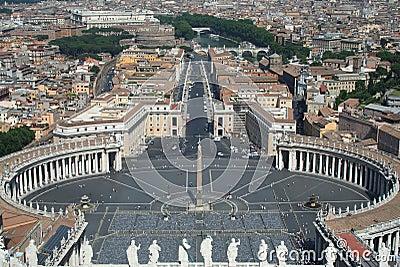 St. Peter s Square, Vatican City, Rome