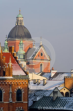 St. Peter and St. Paul s church in Cracow, Poland