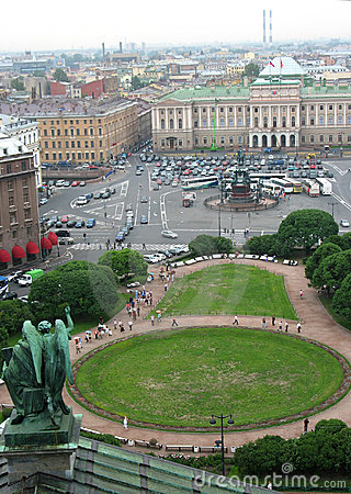 St.Peterburg from  Tower