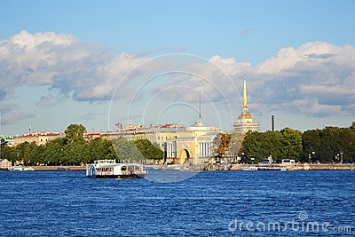 St. Petersburg Admiralty Embankment