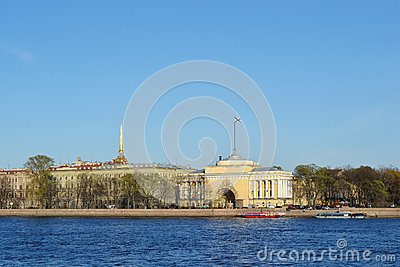 St. Petersburg, Admiralty Embankment