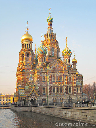 St. Petersburg. Cathedral of the Savior on Blood