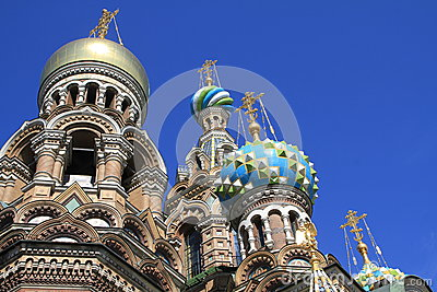 St. Petersburg Cathedral of the Saviour on blood