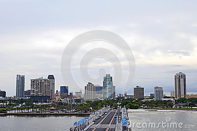 St Petersburg Florida Editorial Stock Photo