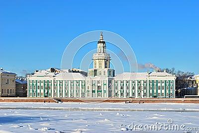 St. Petersburg. Kunstkammer, 18 century