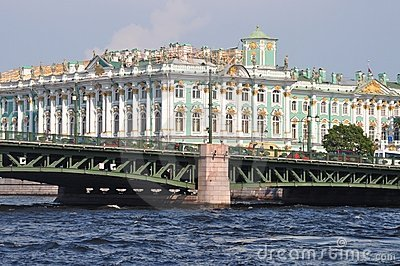 St Petersburg landmark Palace Hermitage
