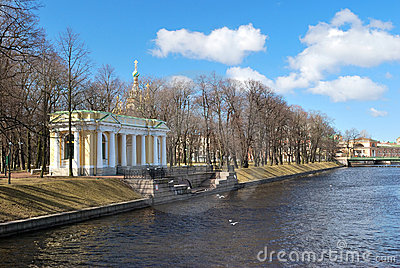 St. Petersburg. Mikhailovsky garden