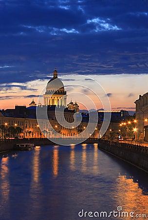 St. Petersburg. Night Scene