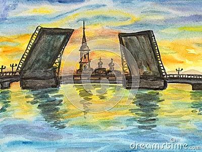 St. Petersburg, painting