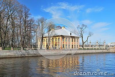 St. Petersburg. Peter 1 Summer Palace