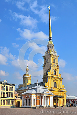 St. Petersburg. Peter and Paul Cathedral