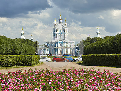 St. Petersburg, Resurrection Smolniy monastery