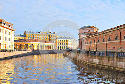 St. Petersburg. River Moika