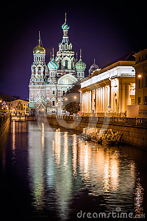Free St.Petersburg, Russia. Spas Na Krovi Cathedral Stock Images - 24415944