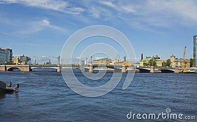 St. Petersburg, Sampsonievskiy bridge