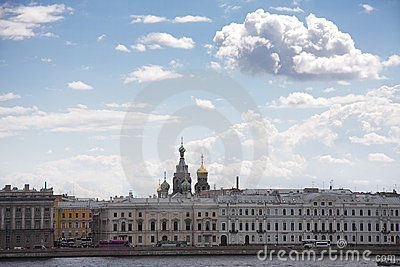 St.Petersburg view from Neva