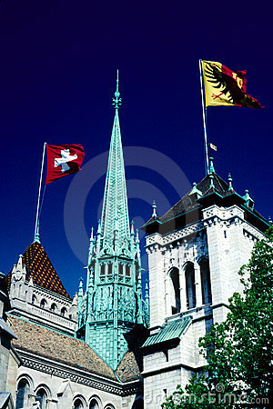 Free St. Pierre Cathedral, Geneva Stock Photography - 5819842