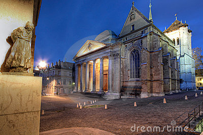 St-Pierre Cathedral, Geneva, Switzerland
