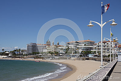 St. Raphael - French Riviera Editorial Stock Image