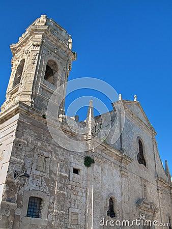 St. Salvatore church. Monopoli. Apulia.