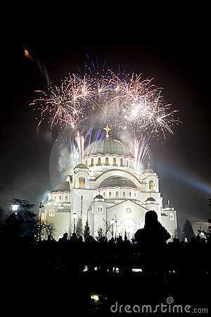 St. Sava Temple in Belgrade, Serbia