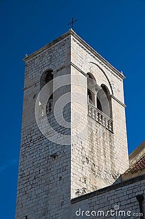 St. Scolastica Belltower. Bari. Apulia.