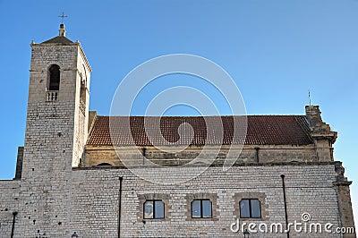 St. Scolastica Church. Bari. Apulia.