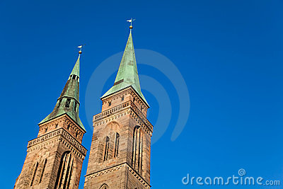 St. Sebaldus Church, Nuremberg, Germany.