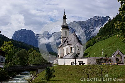 St. Sebastian Parish Church in Ramsau