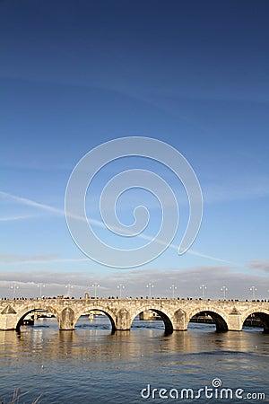 St. Servaas bridge in Maastricht, Holland