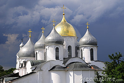 St. Sophia Cathedral in Novgorod, Russia