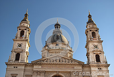 St. Stephen s Basilica in Budapest, Hungary