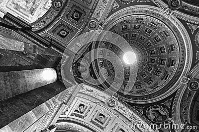 St. Stephen s Basilica, Budapest (monochrome)
