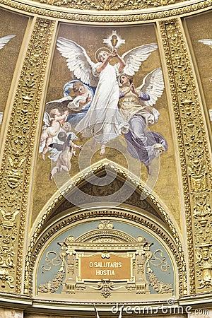 St. Stephen s Basilica, interior fresco