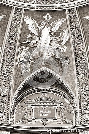 St. Stephen s Basilica, interior panorama