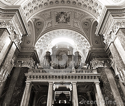 St. Stephen s Basilica, pipe organ