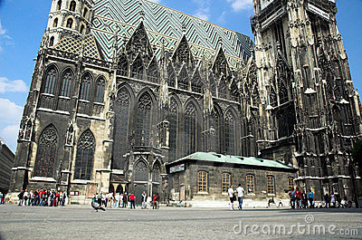 St Stephens Cathedral Editorial Image
