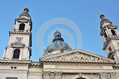 St. Stephens church in Budapest