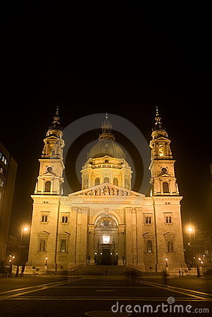 St. Steven Cathedral, Budapest, Hungary