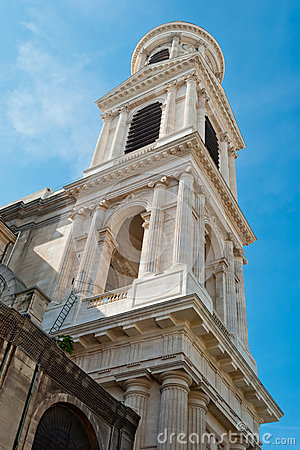 St. Sulpice Church belll tower