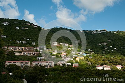 St. Thomas Skyline