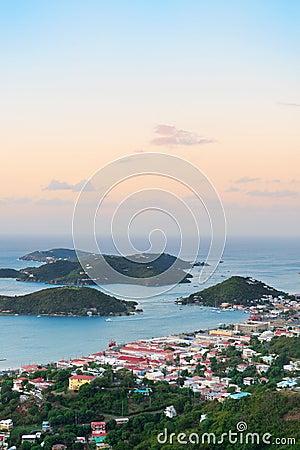 Free St Thomas Sunrise Royalty Free Stock Photography - 32018577