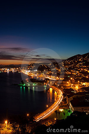 Free St Thomas - US Virgin Island - Sunset Stock Photography - 11195232