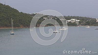 St Thomas scenery stock video footage