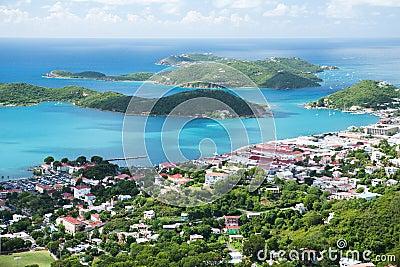 St Thomas, USVI. Charlotte Amalie - cruise bay.