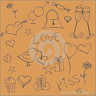 St. Valentine elements