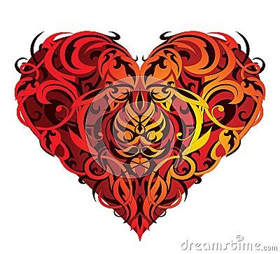 St. Valentine Heart-shape