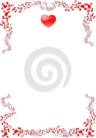St. valentine s card 2