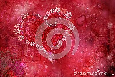 St. Valentine  s day texture