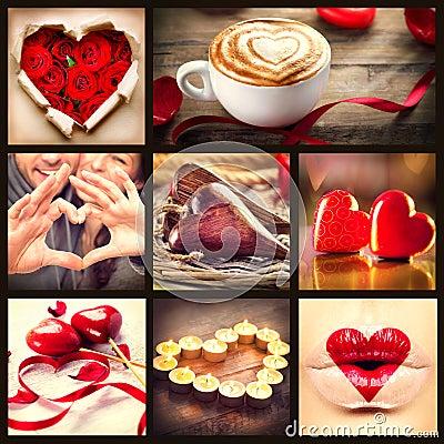 St. Valentines Day Collage